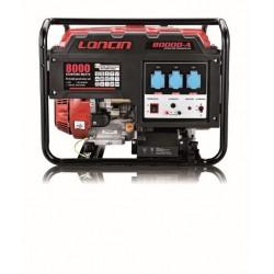 Ηλεκτροπαραγωγό Ζεύγος Loncin LC8000-DA